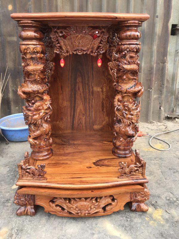 bàn thờ Ông Địa gỗ Cẩm Lai
