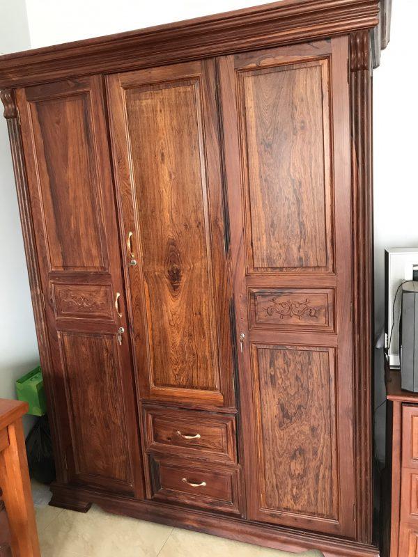 tủ quần áo gỗ Cẩm Lai