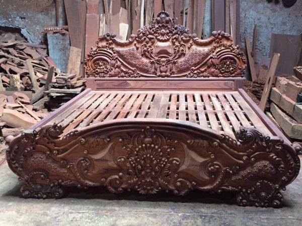 giường ngủ gỗ Cẩm Lai