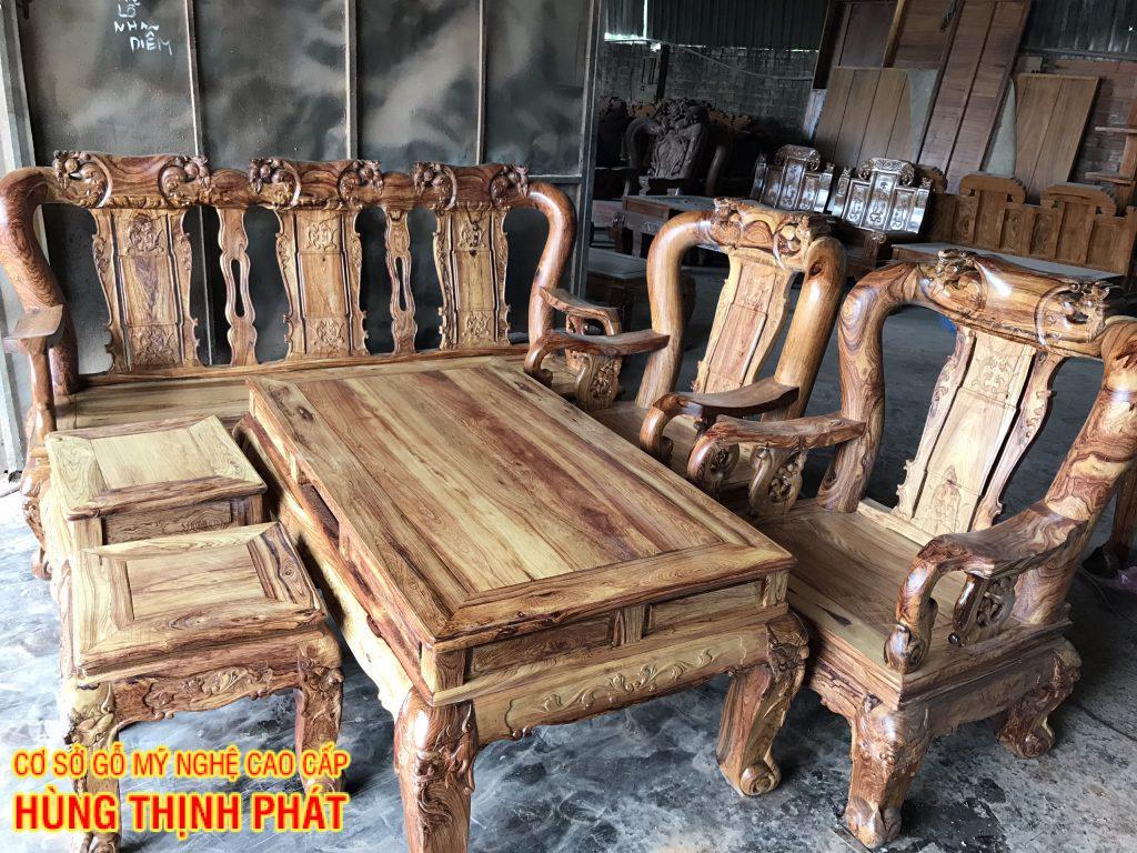 Bàn ghế gỗ Cẩm lai tay 16 tay 18 mộc và quy trình sản suất nội thất gỗ Cẩm lai
