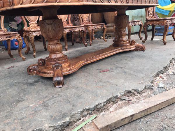 Bàn ghế ăn gỗ Cẩm Lai