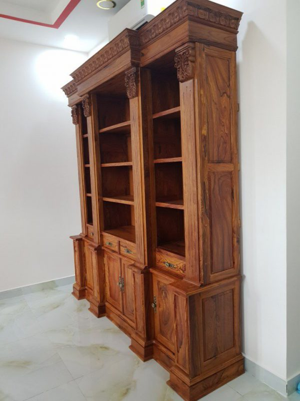 Kệ sách gỗ Cẩm Lai