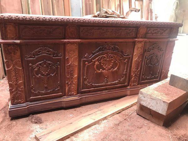 bàn làm việc gỗ Cẩm Lai