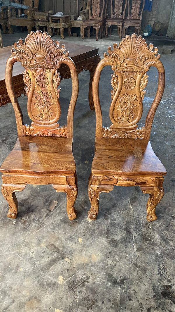 mẫu ghế gỗ Cẩm Lai